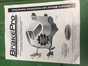 Roadmaster break proportional breaking system for your towed vehicle behind your motorhome for Sale in Paragon, IN