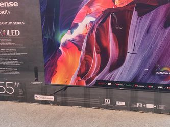 """55"""" inch Hisense Quantum Dot ULED 4K Android for Sale in East Los Angeles,  CA"""