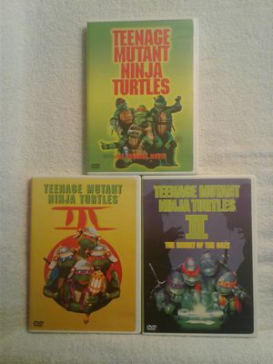TMNT DVD Movies for Sale in Bloomington, CA