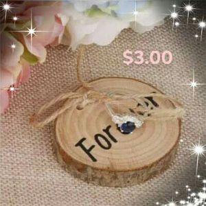 Wedding ring wood carrier for Sale in Durham, NC