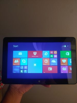 Dell tablet venue 10.8 inch with charger beuitful laptop eith windows for Sale in Orlando, FL