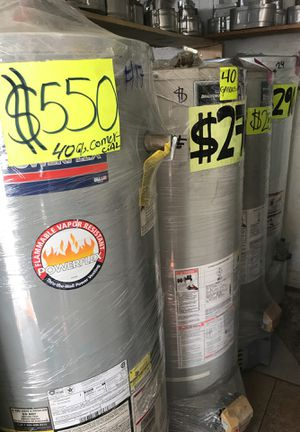 Water heater ‼️we are located on - 2501 W. 54th St. Los Angeles CA 90044 🛑 Ask for Isabel for a 10% off for Sale in Los Angeles, CA