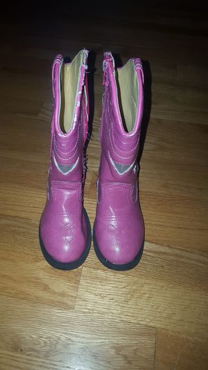 Girls Light Up Cowboy Boots Size 7.5 for Sale in Chicago, IL