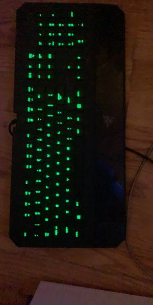 Razer Mouse and Keyboard for Sale in Houston, MS