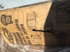 6x8 arrow Newport steel shed for Sale in Nellis Air Force Base, NV