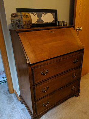 Antique secretary desk for Sale in Vancouver, WA