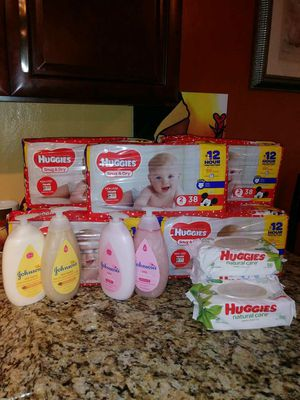 Huggies Diaper Bundle $50 for Sale in Palmetto Bay, FL