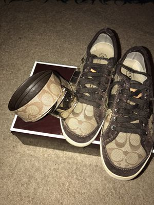Coach sneakers 👟 for Sale in Laurel, MD