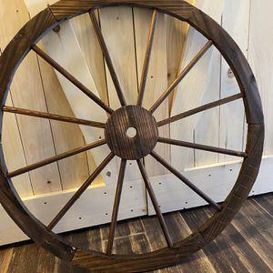Wood Wagon Wheel for Sale in Stony Brook, NY