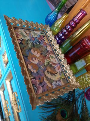 Gorgeous Antique Vanity Tray with Original Fabric for Sale in St. Pete Beach, FL