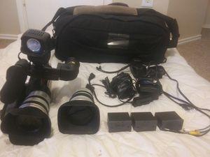Canon XLR 1 Mini Dv 3CCD Digital Video Camera for Sale in Houston, TX