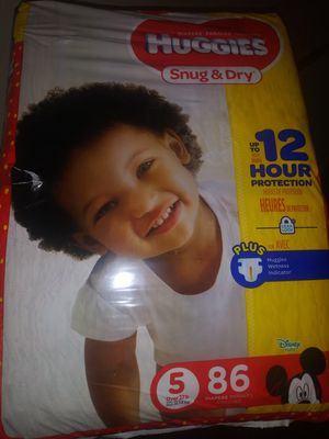Huggies size 5 for Sale in Portsmouth, VA