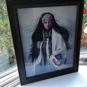 Indian Girl Picture for Sale in San Leandro, CA