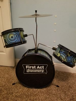 First act kids drum set for Sale in Santa Susana, CA