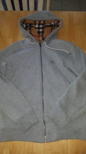 Mens Burberry hoodie 100%authentic size small for Sale in Raleigh, NC