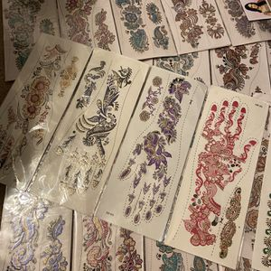 Pre Made Henna Tattoos for Sale in Elk Grove, CA