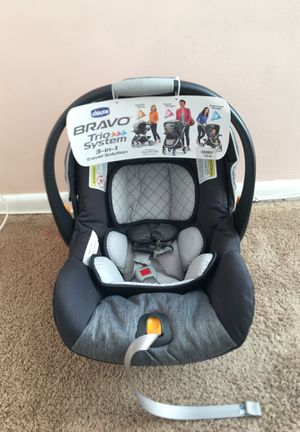 Chicco Bravo car seat only for Sale in Alexandria, VA