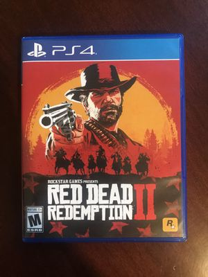 Red dead redemption 2 PS4 for Sale in Manteca, CA