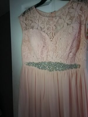 Party Prom Bridesmaid Coral Dress Size 1XL for Sale in San Bernardino, CA