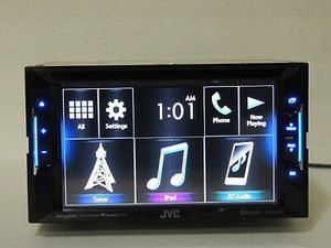 Jvc stereo V130bt DVD Bluetooth apps $130 for Sale in Dallas, TX