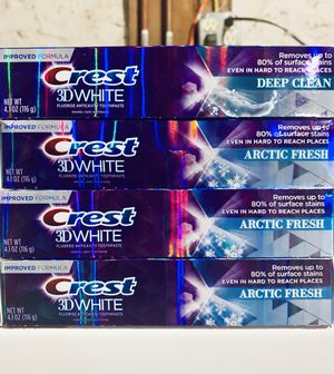 CREST 3D WHITE TOOTHPASTE 💥 for Sale in New Britain, CT