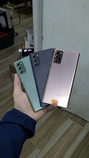 Galaxy Note 20 5G 128GB Factory Unlocked / ATT Cricket T-Mobile Metro Starting @ for Sale in Arlington, TX
