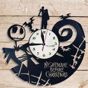 Custom Vinyl Nightmare Before Christmas clock for Sale in Irvine, CA