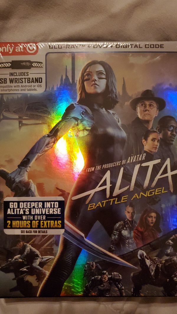 4k Alita battle angel (Only target)