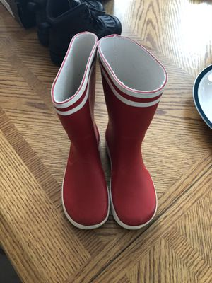 Aigle rain boots for kids size 10.5 for Sale in Old Bridge Township, NJ