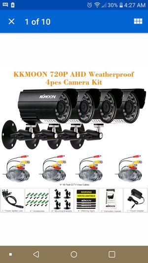 Kkmoon 4 camara security package for Sale in Milton, FL