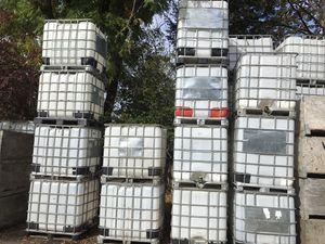Bulk totes, IBCs, water storage tanks, 275 gallon for Sale in Hillsboro, OR