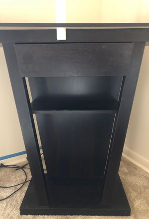 Black Canvas Tv Stand for Sale in Washington, DC