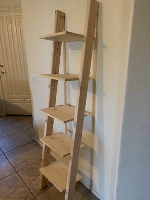 Leaning ladder shelf for Sale in Chandler, AZ