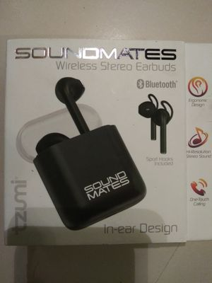 Sound Mates Wireless Stereo Earbuds BRAND NEW!! for Sale in Covington, WA