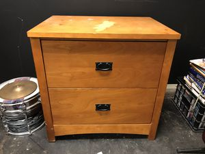 Solid wood filing cabinet for Sale in San Diego, CA