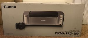 Cannon printer Pixma Pro-100 for Sale in PINES, IN