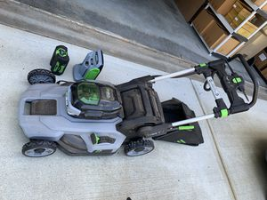 Ego lawn mower for Sale in Cumming, GA