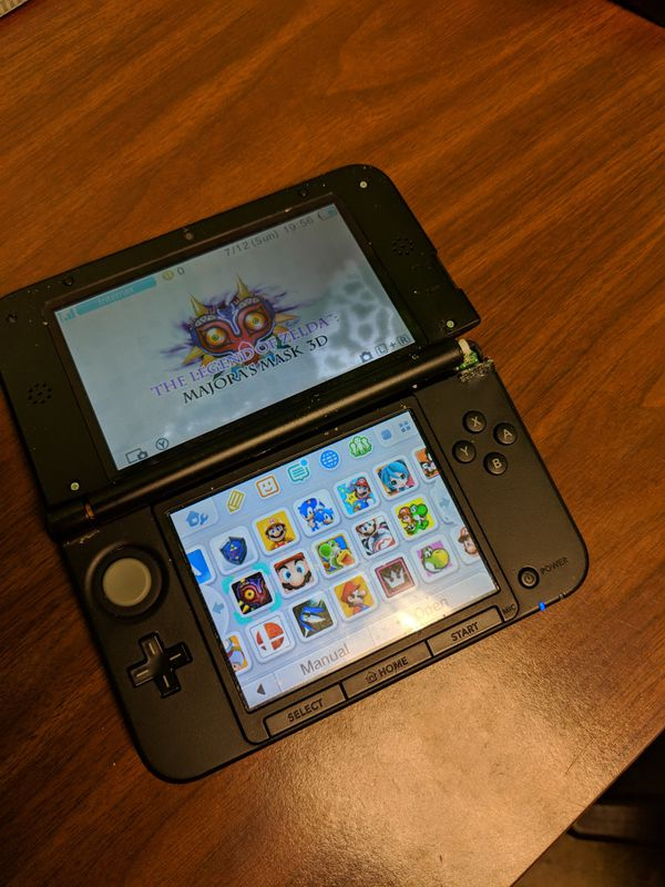 Nintendo 3DS XL CFW 32GB SD Card & games ready to play  Broken hinge for  Sale in Garland, TX - OfferUp