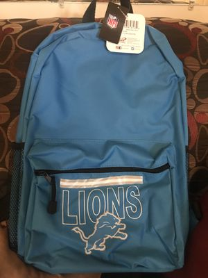 Detroit Lions backpack for Sale in Greensboro, NC