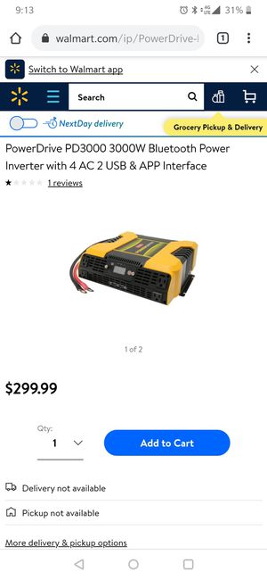 3000w power drive power inverter for Sale in Mooresville, IN