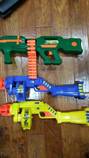 Nerf imitation rifles guns Buzz Bee Toys for Sale in Fremont, CA