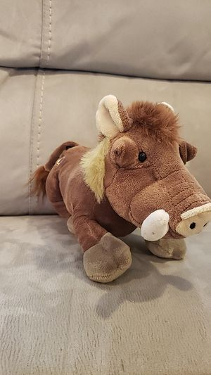 Warthog plushy from Ganz for Sale in Rancho Cordova, CA