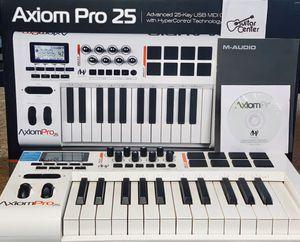 M-Audio Axiom Pro 25 USB MIDI Keyboard Controller for Sale in Palmdale, CA