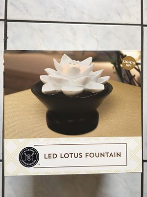 Indoor Led Lotus Fountain for Sale in Irwindale, CA