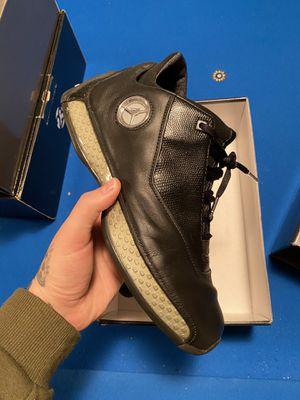 Jordan 18 OG Low Black Silver Chrome for Sale in Seattle, WA