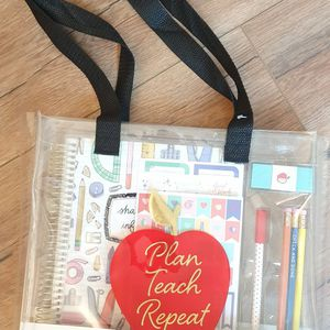 Undated Recollections Teacher Planner Tote Set for Sale in Sunnyvale, CA