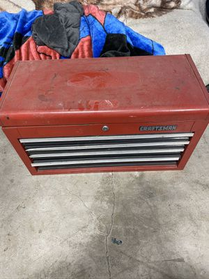 Craftsman tool box with tools for Sale in Camas, WA