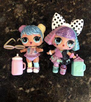 Lol dolls bling series bon bon and Pranksta for Sale in Portland, OR