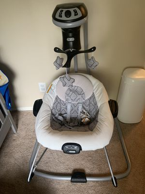 Graco duet connect LX baby swing for Sale in Victorville, CA