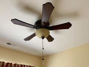 Hunter flush mount ceiling fan for Sale in Cary, NC